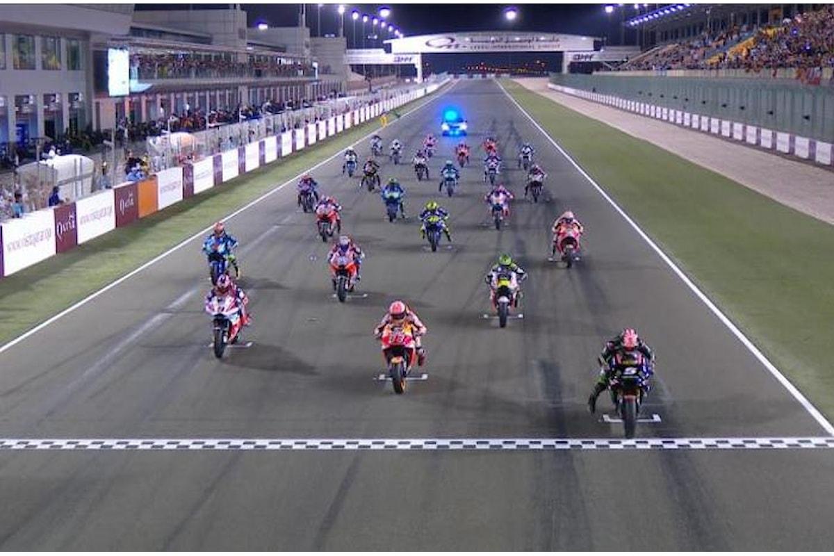 In Qatar è Dovizioso ad inaugurare con una vittoria la stagione 2018 della MotoGP