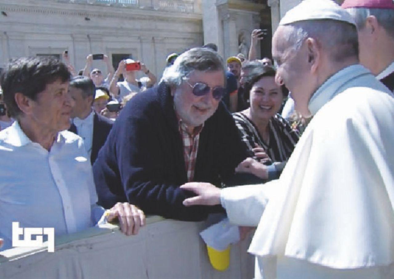 Guccini incontra il Papa, il miracolo di Francesco