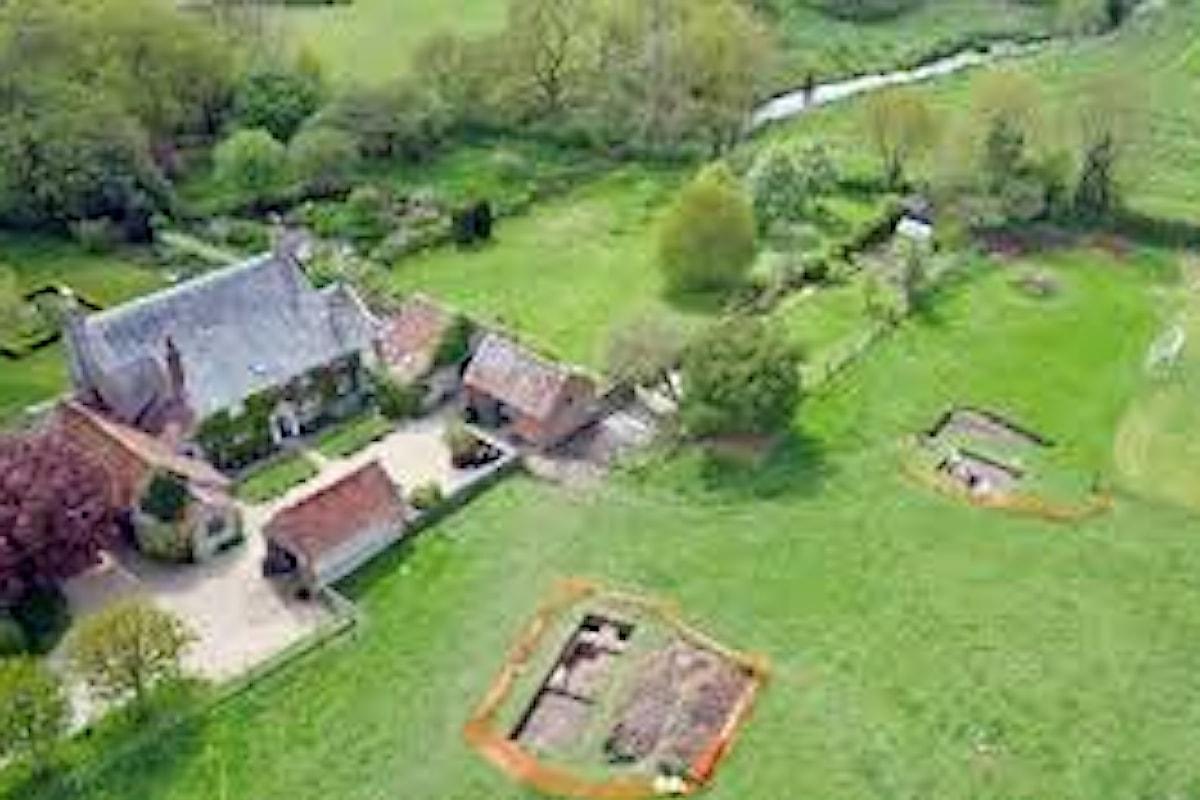 Casuale scoperta di un'antica villa romana nel sud dell'Inghilterra