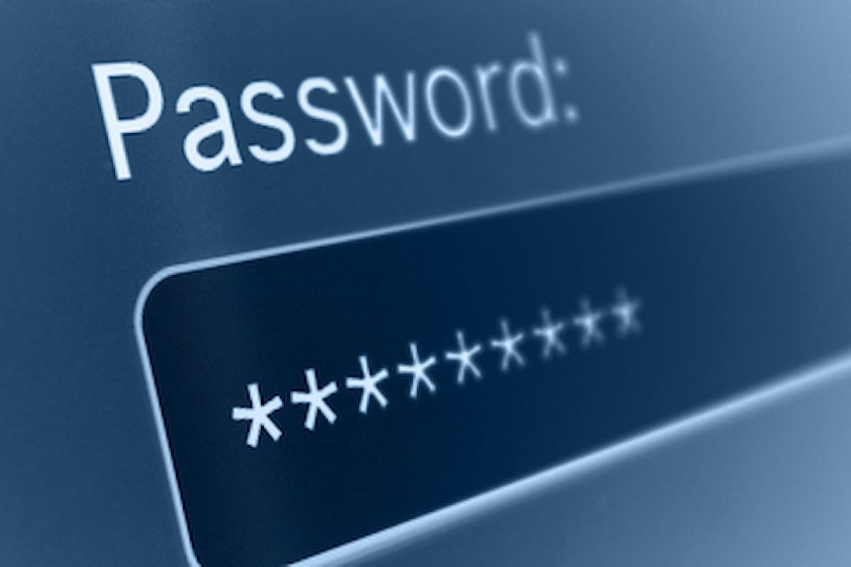 La classifica delle 25 password peggiori del 2015. In testa 123456