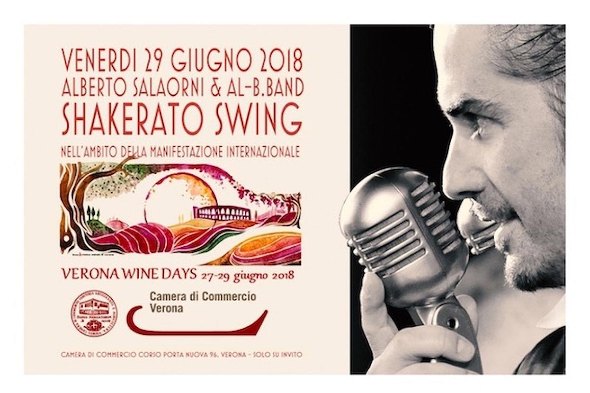 29 giugno, Shakerato Swing by Alberto Salaorni & Al-B.Band a Verona Wine Days