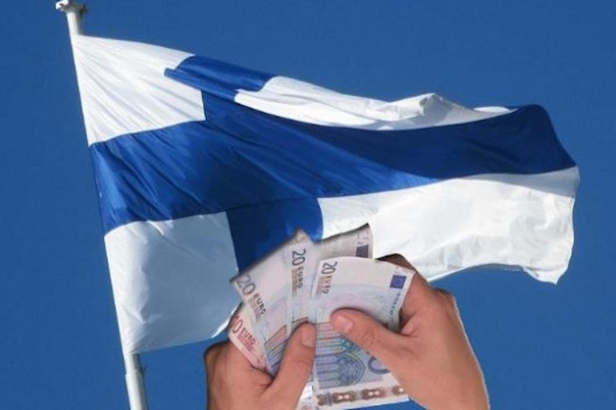 In Finlandia si sta testando il reddito minimo per tutti
