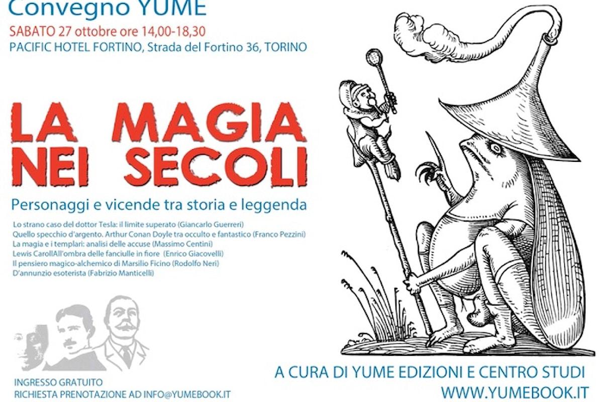 La magia nei secoli: convegno organizzato dalla casa editrice torinese Yume