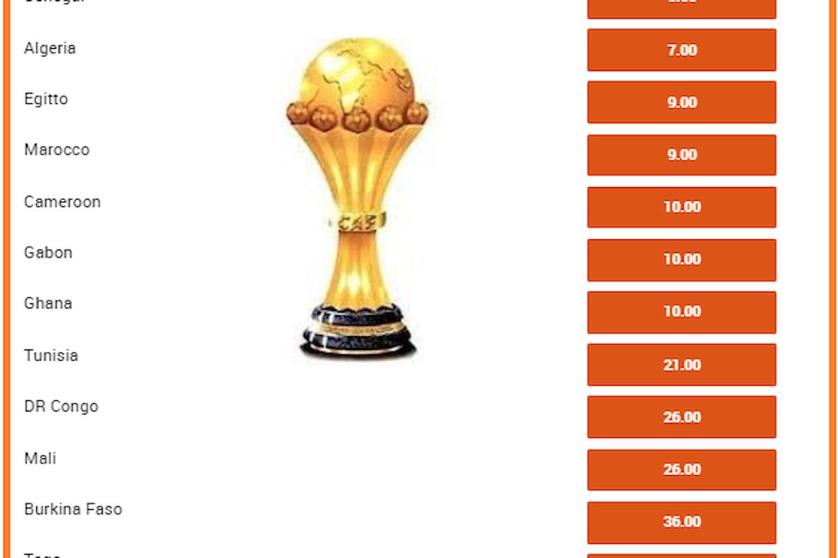 Coppa d'Africa: Costa d'Avorio in pole, Kessié in trionfo a 4,50