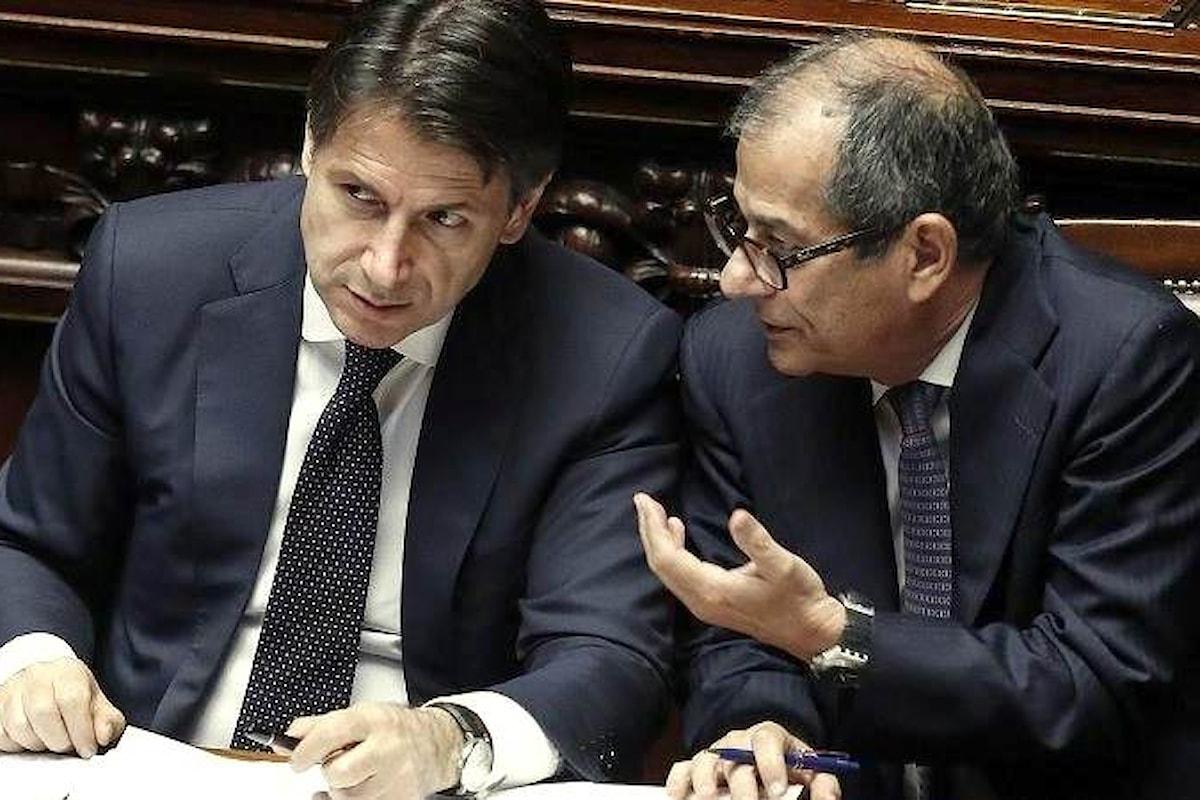 Tria e Conte confessano: uno spread così l'Italia non lo può reggere a lungo