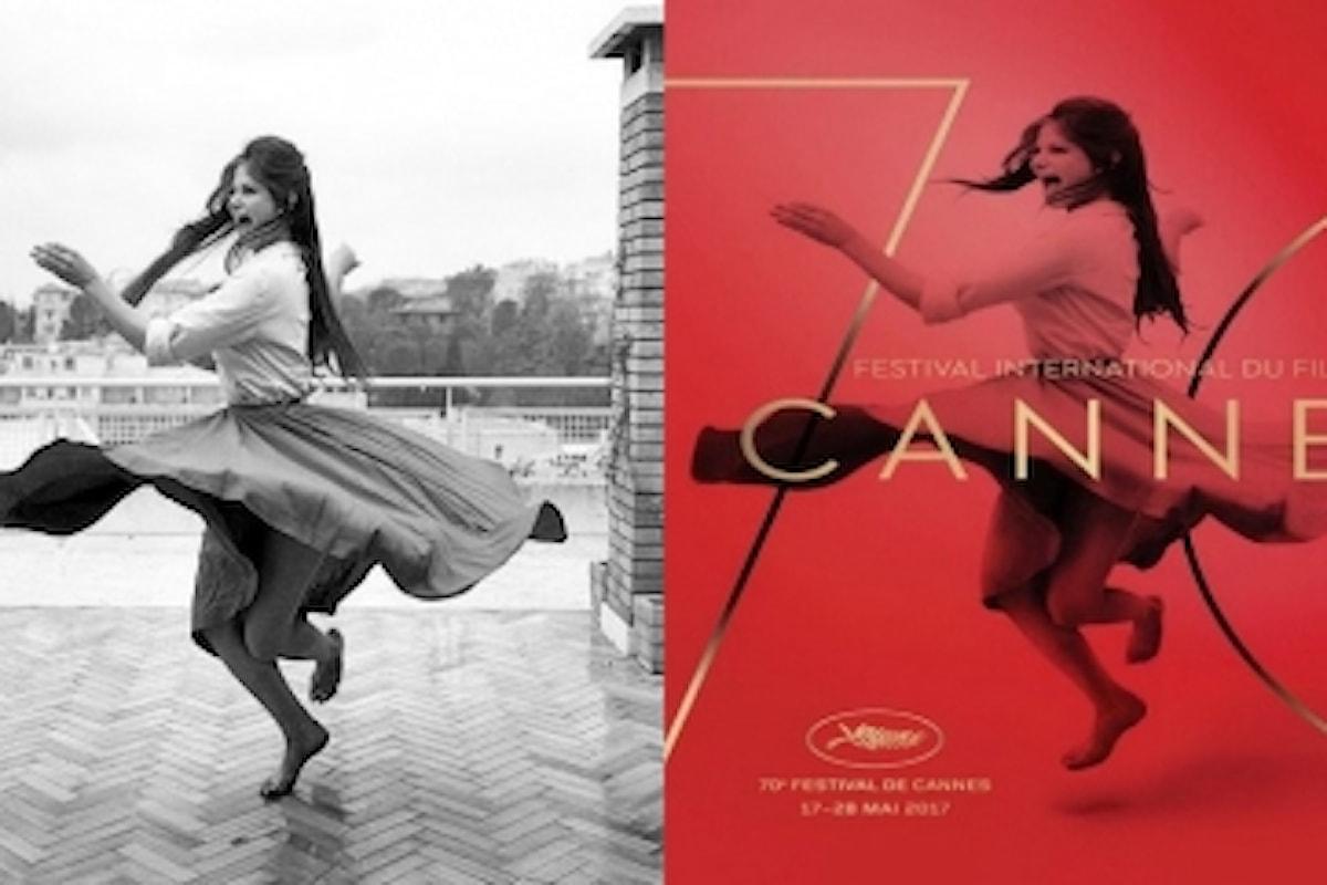 Il Festival di Cannes festeggia i suoi 70 anni con uno straordinario omaggio al Cinema Italiano: l'immagine di Claudia Cardinale nei poster ufficiali