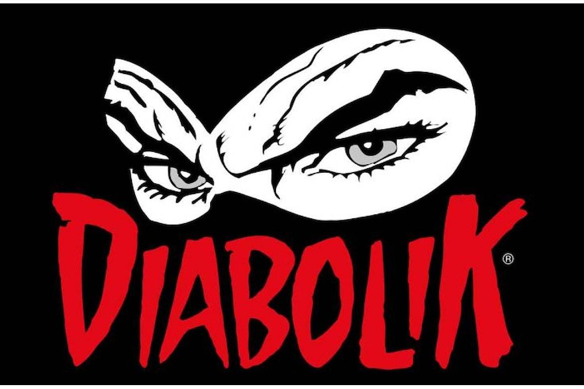 Nuove uscite in edicola a Novembre 2016 per il mitico Diabolik