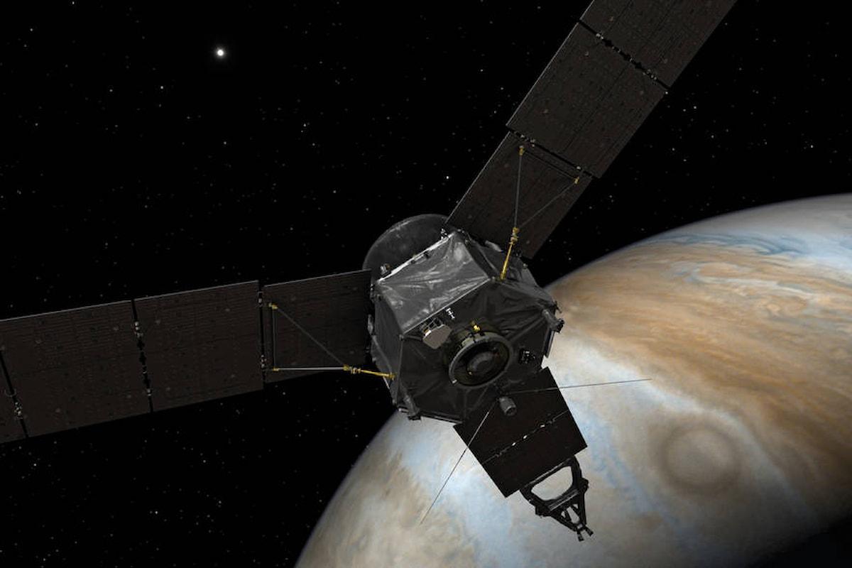 Giove: le spettacolari immagini scattate dalla sonda Juno