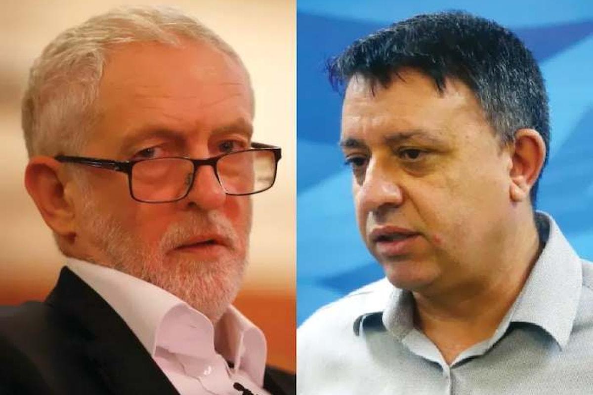 Il Partito Laburista israeliano interrompe le relazioni con Jeremy Corbyn e i laburisti inglesi