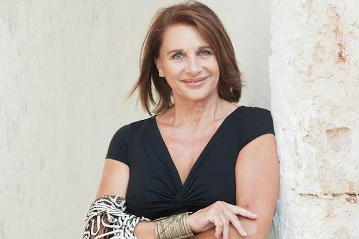 Paola Pitagora a Salsomaggiore per ritirare il Premio Mangiacinema - Creatrice di Sogni