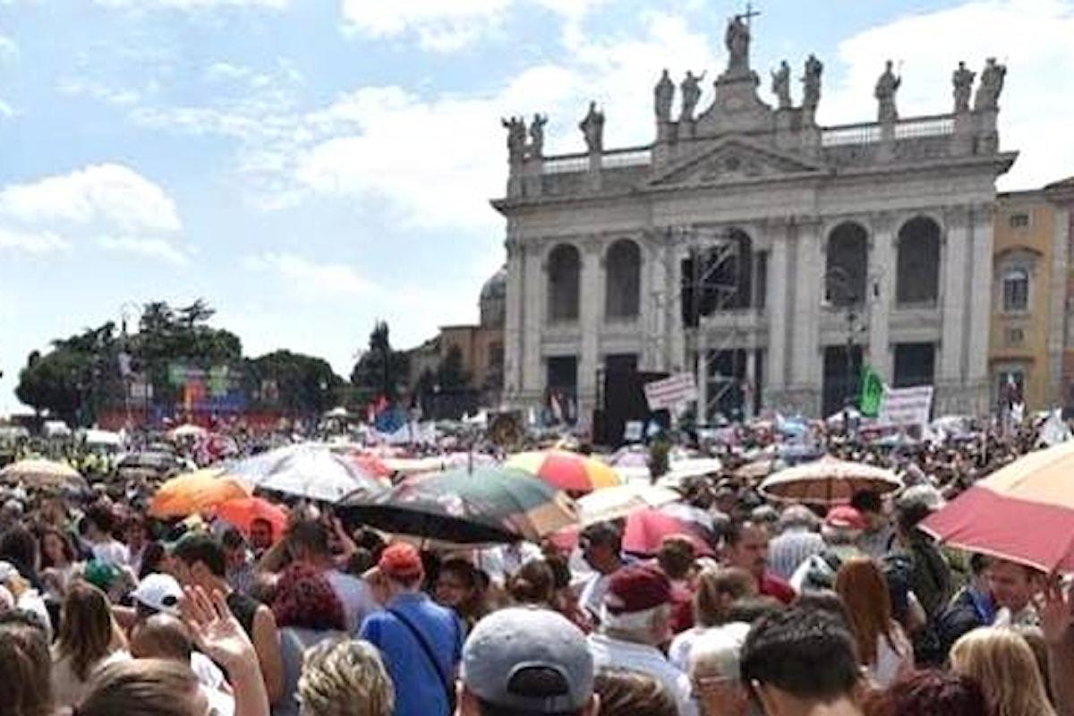 Family day: il 30 gennaio mobilitazione a Roma contro le unioni civili, con l'appoggio della CEI