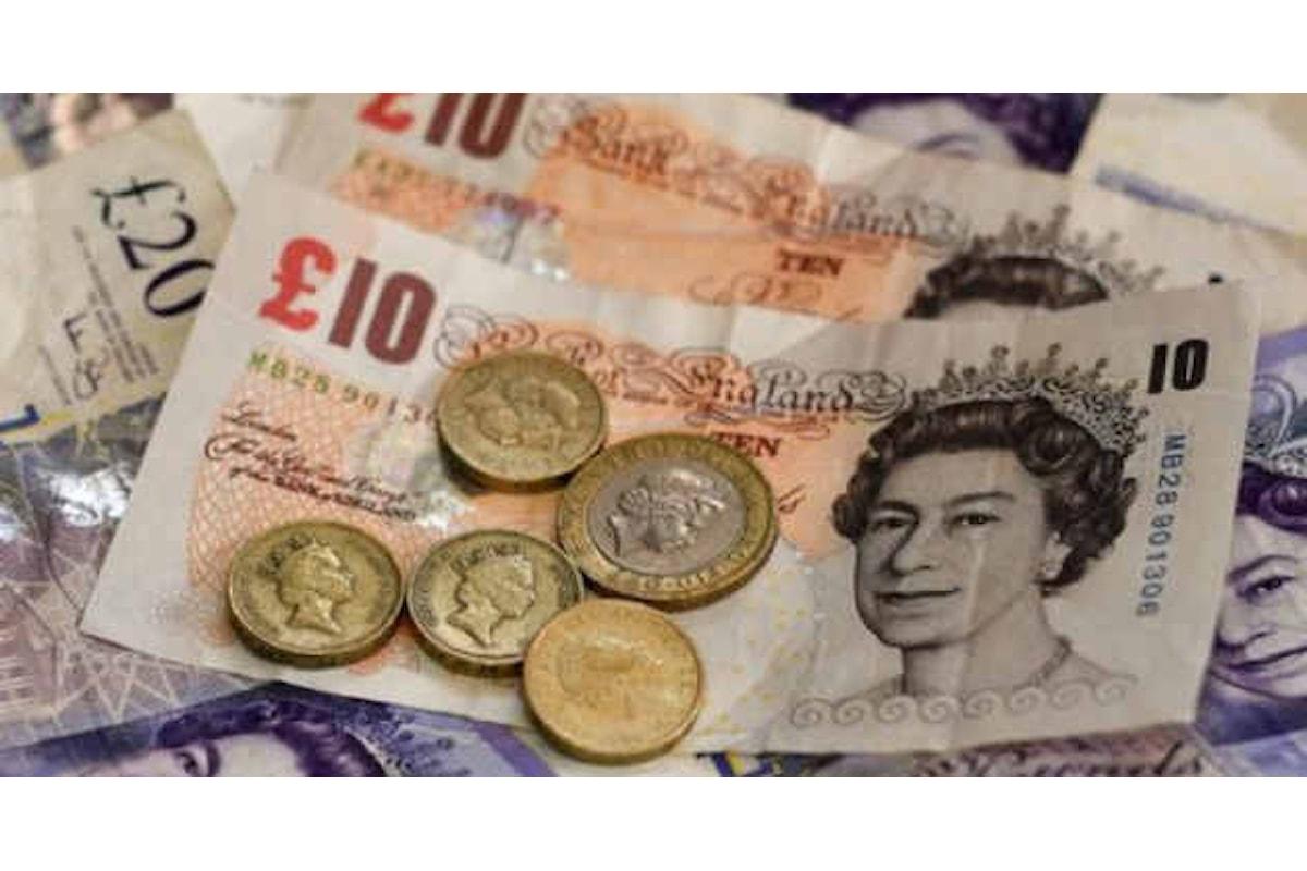 Brexit e dati macro spingono la quotazione del pound