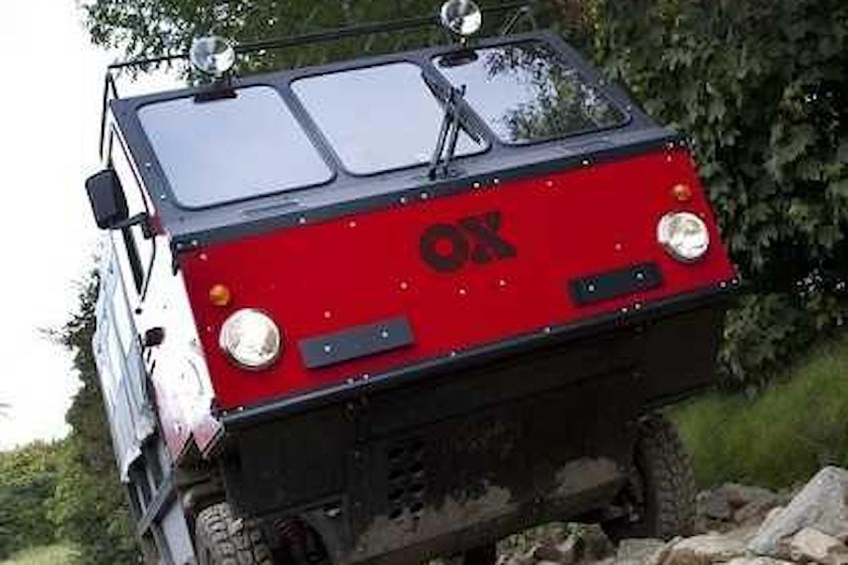 The Ox, la prima auto montabile del mondo pensata per l'Africa
