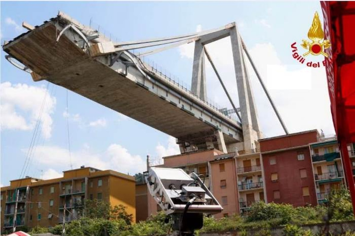 Il Mit pubblica l'inutile relazione della Commissione Ispettiva voluta da Toninelli sul crollo del ponte Morandi