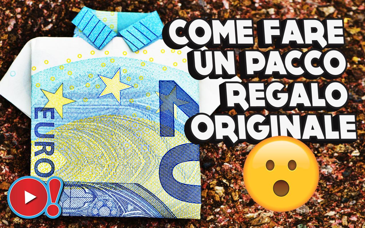 Come fare un pacco regalo originale. Segui il tutorial e a Natale stupisci tutti!