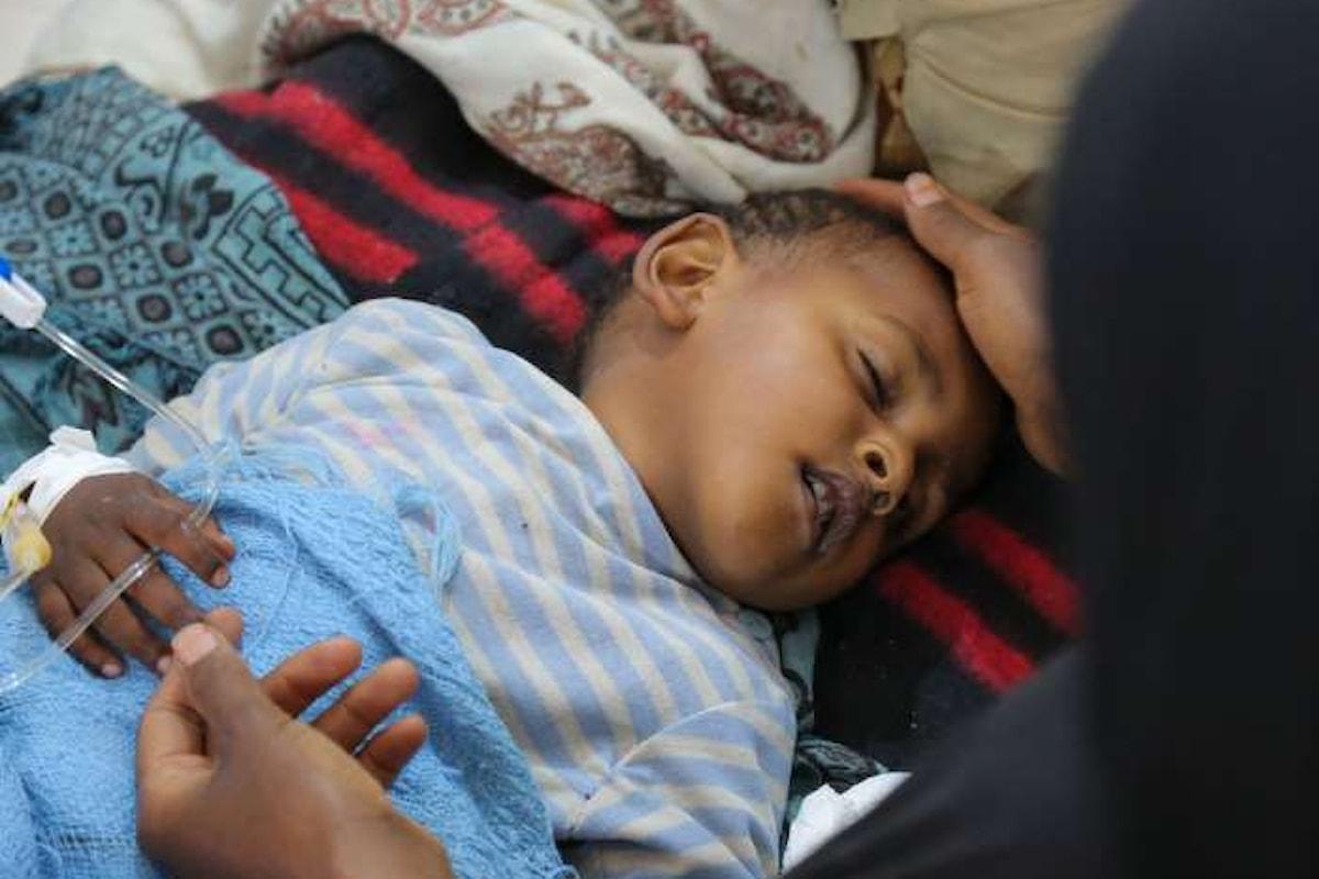 Oltre la guerra, anche il colera. Appello congiunto di UNICEF e OMS per la situazione in Yemen