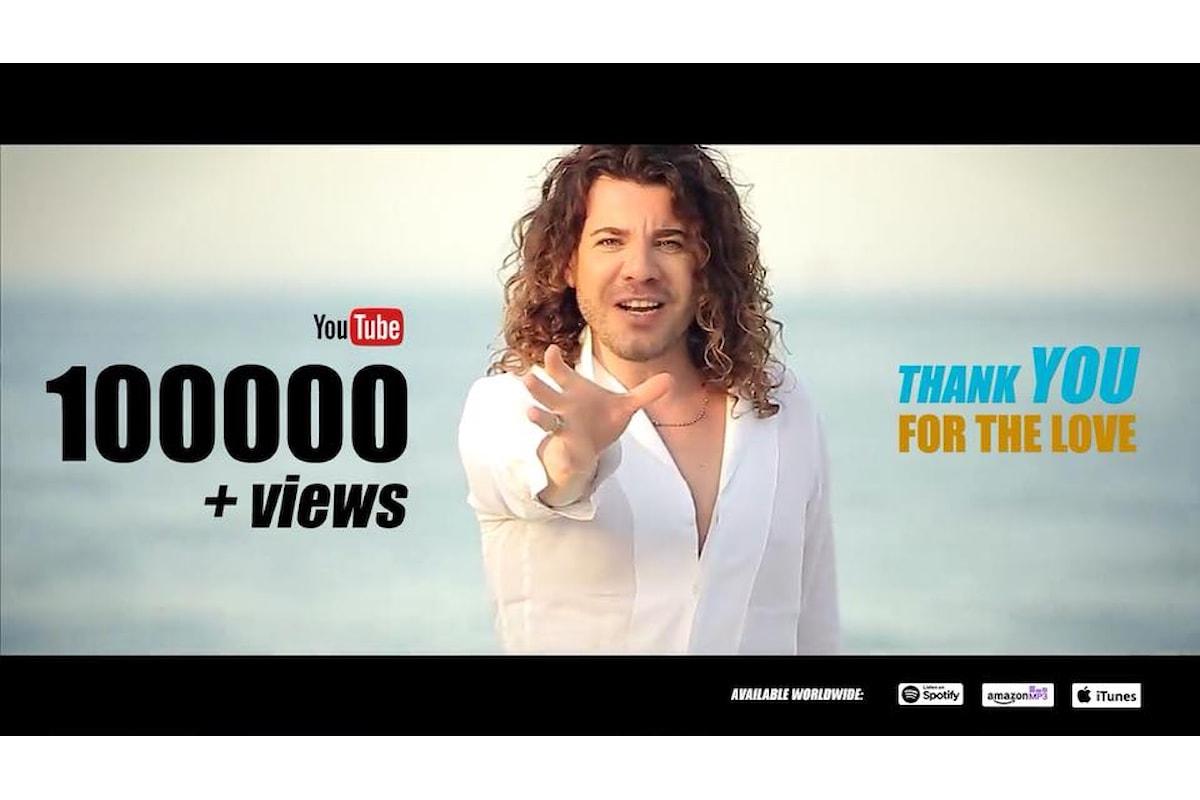 Borghi - Vivo la Vida supera le 100.000 visualizzazioni su YouTube