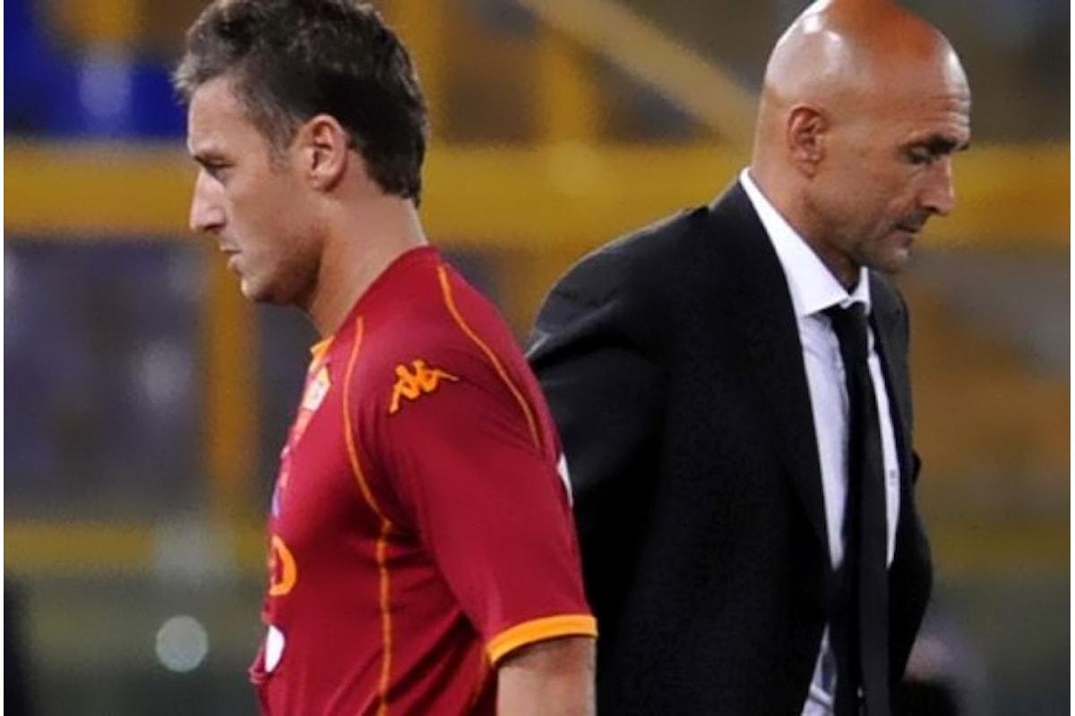 Totti: Con Spalletti non c'è mai stato un confronto e mai ci sarà