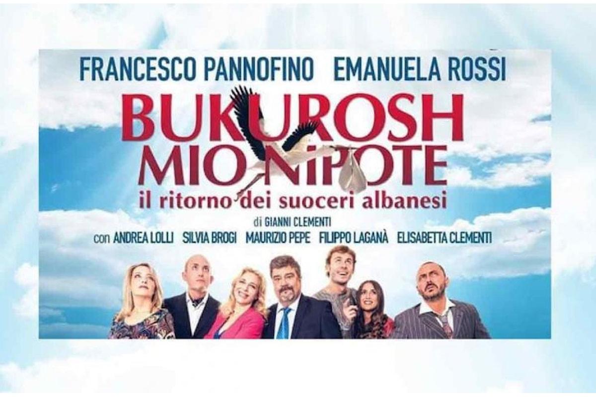 Al Teatro Sala Umberto di Roma Bukurosh mio Nipote