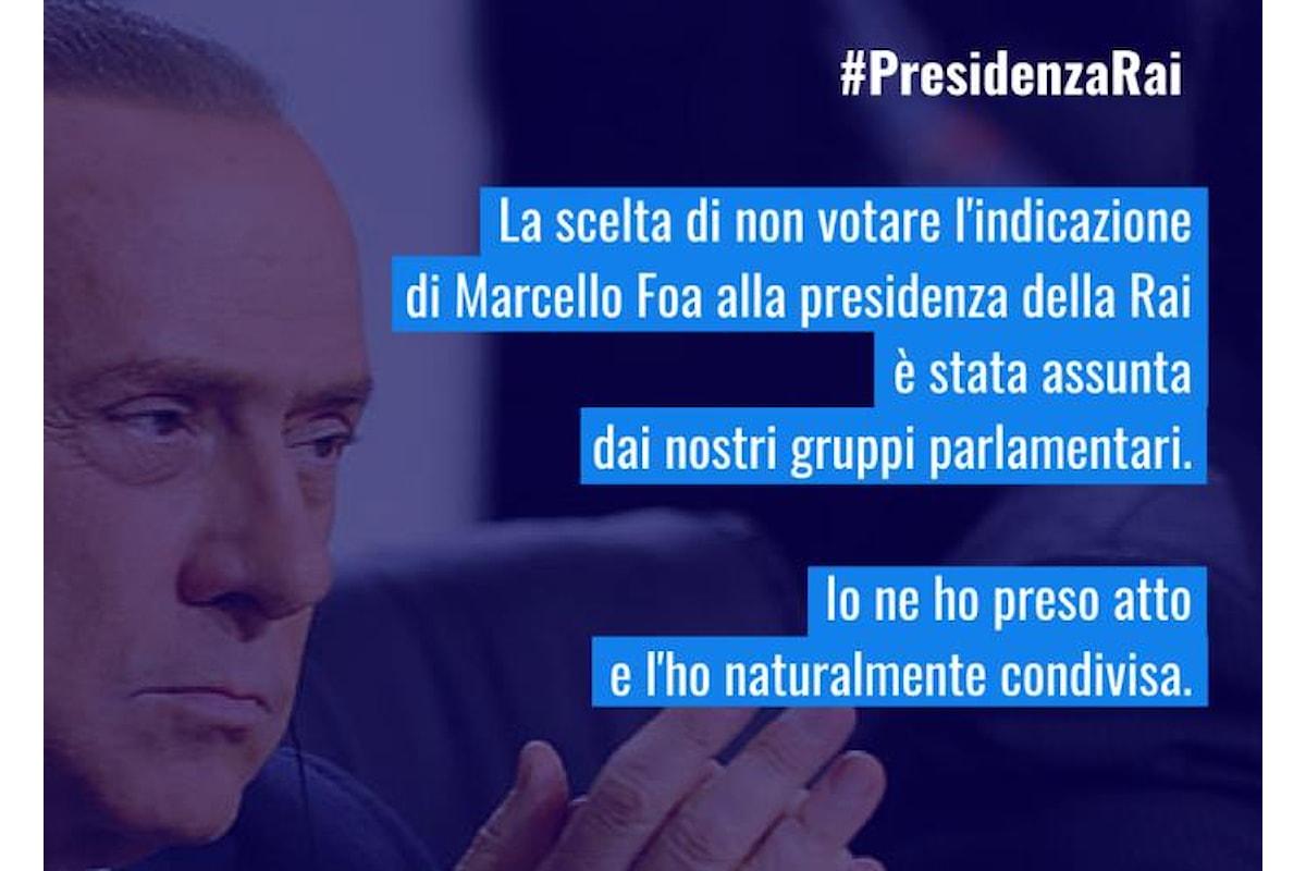 Tra Berlusconi e Salvini non c'è accordo sulla presidenza Rai