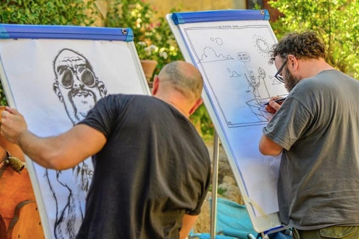 LA CITTÀ INCANTATA 2018, IV Meeting internazionale dei disegnatori che salvano il mondo