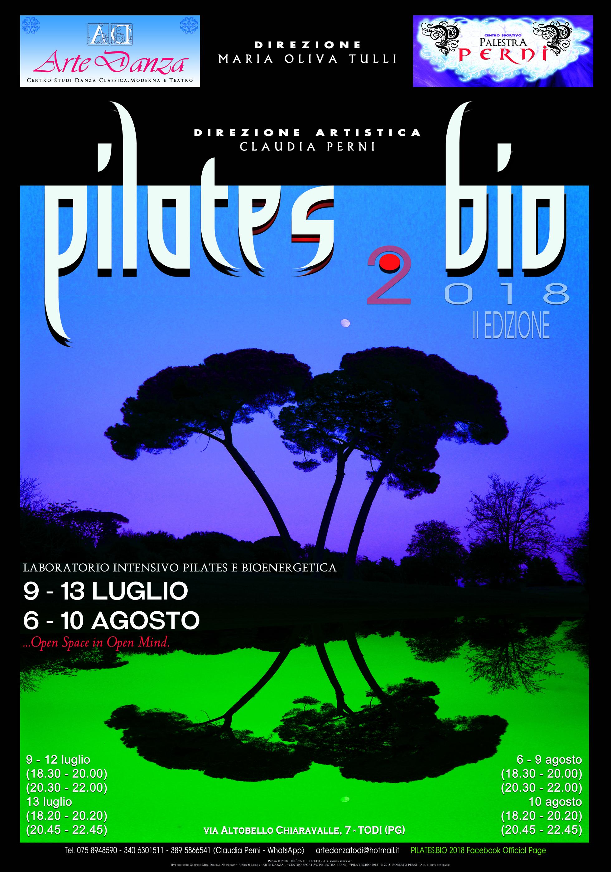 Con la seconda edizione, si replica a Todi il successo di PILATES.BIO: al via la prossima estate una manifestazione unica