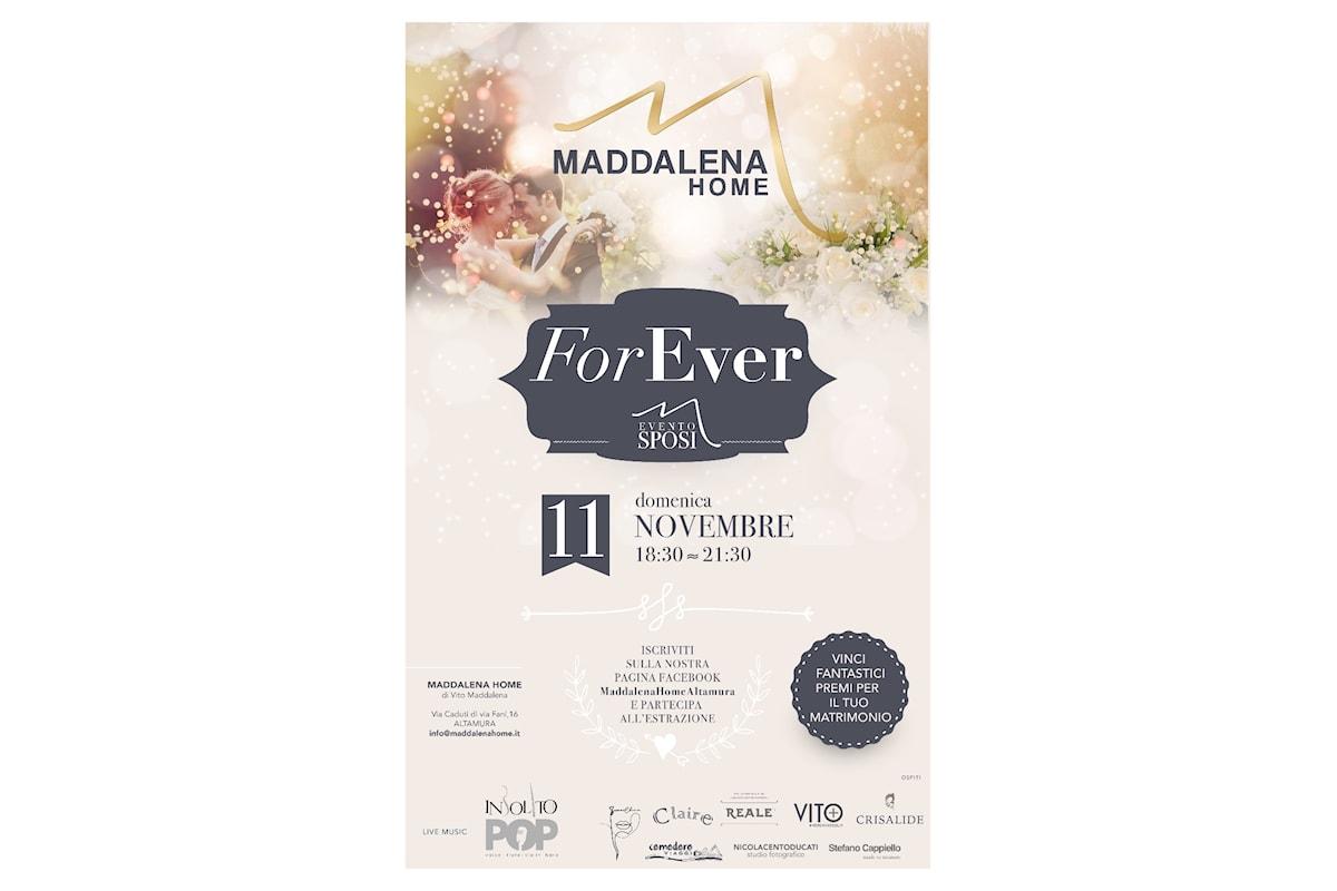Altamura, al via la prima edizione dell'evento ForEver dedicato ai futuri sposi