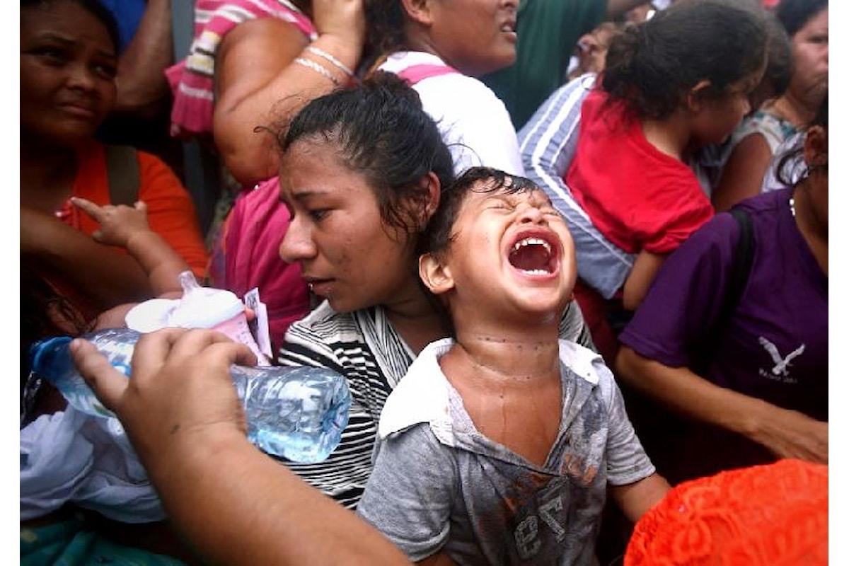 Unicef: 2.300 i bambini arrivati in Messico tra il 19 e il 22 ottobre con la carovana dei migrati proveniente dal Centro America